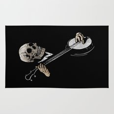 Skullboys' Banjo Blues Rug
