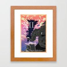 Vintage FF Poster XII Framed Art Print
