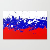 into the sky, Russia Canvas Print