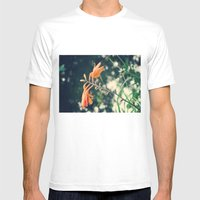 Udabarriko Lorie Mens Fitted Tee White SMALL