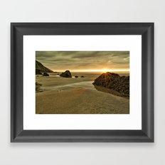 Putsborough Sands Framed Art Print