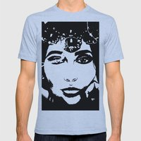 Queen of Hearts - by Ashley-Rose Standish Mens Fitted Tee Athletic Blue SMALL