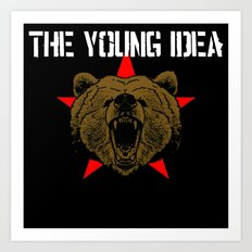 The Young Idea - Grizzly Logo II Art Print