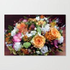 Bohemian Bouquet Canvas Print