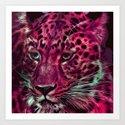 Jaguar 025 Art Print