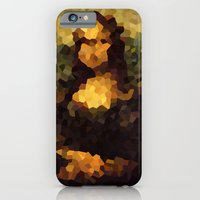 Pixelated Mona Lisa iPhone 6 Slim Case