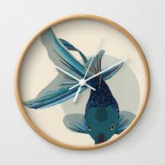 Not So Golden Fish Wall Clock
