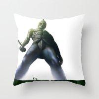 Talos Throw Pillow