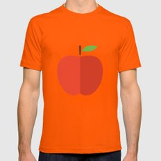 Apple 17 Mens Fitted Tee Orange SMALL