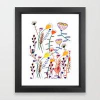 Flowers - Floral - Flowe… Framed Art Print