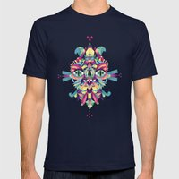 Mask Mens Fitted Tee Navy SMALL
