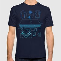 PSX 2 Mens Fitted Tee Navy SMALL