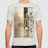 Escape Mens Fitted Tee Silver SMALL