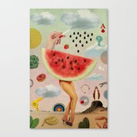 Xposed Collection -- Juicy Canvas Print