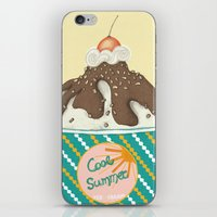 ICE CREAM iPhone & iPod Skin