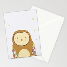 Autumn the Owl Stationery Cards