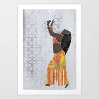 Belly Dancer 11 Art Print