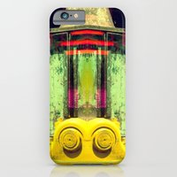 iPhone & iPod Case featuring Industrial Abstract Twins by Arturo Peniche