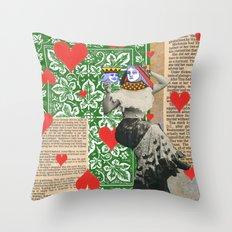 Love game Throw Pillow