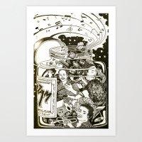 Music Jam Art Print
