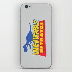 Inevitable Betrayal iPhone & iPod Skin