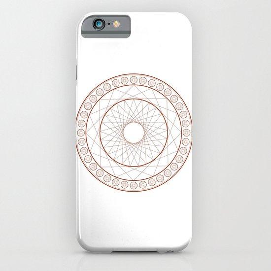 Anime Magic Circle 3 iPhone & iPod Case