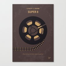 No578 My Super 8 minimal movie poster Canvas Print