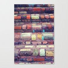 Abstract Bricks Canvas Print