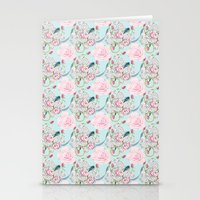 Bluebirds And Shabby Chi… Stationery Cards
