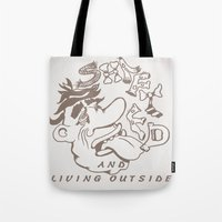 Shafted And Living Outsi… Tote Bag
