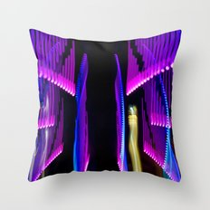 Experiments in Light Abstraction 2 Throw Pillow