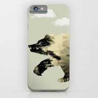 iPhone Cases featuring Bear Day Out by vin zzep