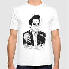 Dead Famous - Cash Mens Fitted Tee White SMALL