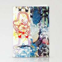 SPLIT YOSEMITE SAM Stationery Cards
