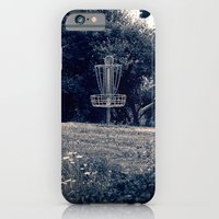 Frisbee Disc Golf Basket iPhone 6 Slim Case