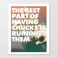 The Best Part Of Having … Canvas Print