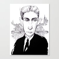 Franz Kafka Canvas Print
