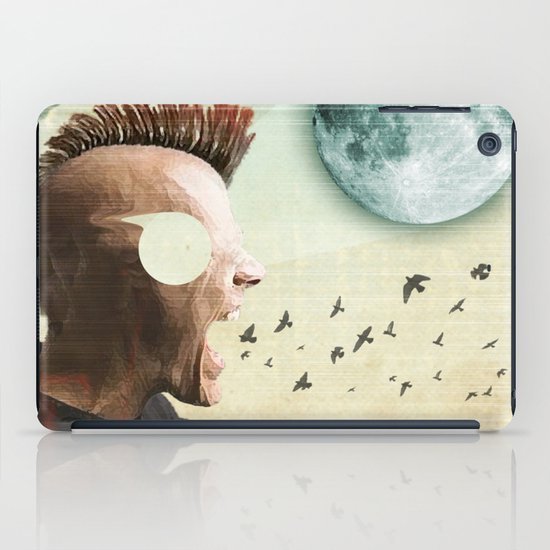 luna mohawk  iPad Case