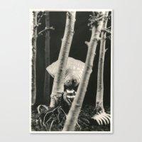 Oyster Boy - tim burton Canvas Print
