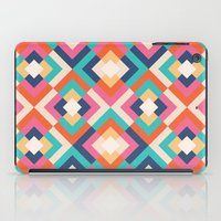 Colorful Geometric iPad Case