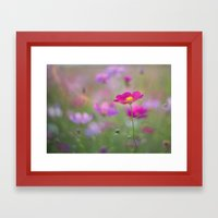 Early Autumn Kiss Framed Art Print