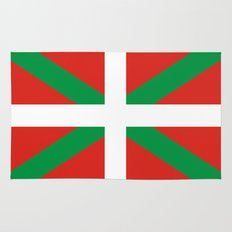 basque people ethnic flag spain Rug