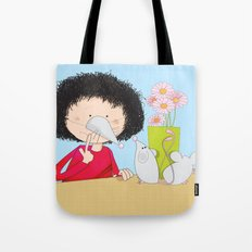Acting like mice.... Tote Bag