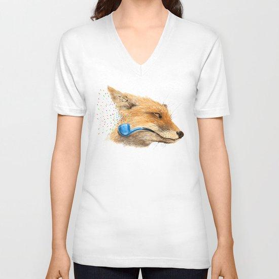 Fox V V-neck T-shirt