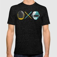 Robot X Robot Mens Fitted Tee Tri-Black SMALL