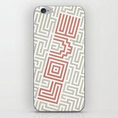 Love game iPhone & iPod Skin