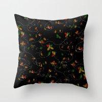 Spirits of Seasons Throw Pillow