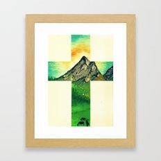 Through His Eyes Framed Art Print