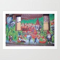 streets Art Print