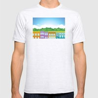 Brooklyn Brownstones Mens Fitted Tee Ash Grey SMALL